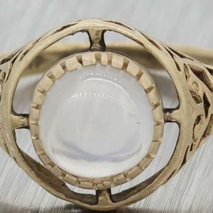 Jewelry - Stunning Victorian Moonstone Cocktail Ring